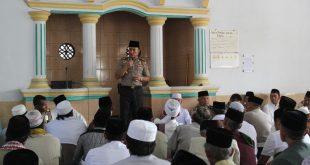 AKBP M. Sabilul Alif, SH, S.Ik, M.Si, khutbah di Masjid Masjid Jami Baitul Huda